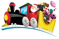De trein van het suikergoed Royalty-vrije Stock Foto