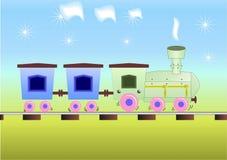 De trein van kinderen vector illustratie