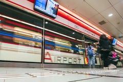 De Trein van Peking Airport Express royalty-vrije stock fotografie