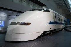300 de Trein van reeksshinkansen in Japan Royalty-vrije Stock Foto's