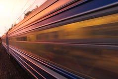 De trein van Riga Stock Foto's