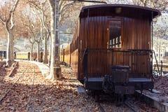 De trein van Soller majorca Stock Afbeelding
