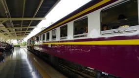De trein van Thailand Royalty-vrije Stock Foto's