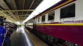 De trein van Thailand Stock Foto's