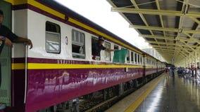 De trein van Thailand Stock Fotografie