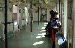 De Trein van Tokyo Stock Foto's