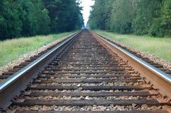 De trein volgt 2 Royalty-vrije Stock Foto