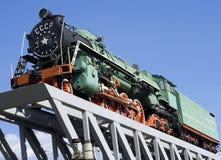 De trein vooraanzicht van Sooviet Stock Afbeeldingen
