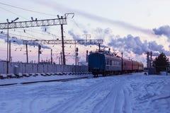 De trein is weg, mist de boot royalty-vrije stock foto