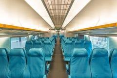 De trein van Maglev in Shanghai China royalty-vrije stock foto's