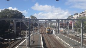 De treindienst van Sydney, Australië stock afbeelding