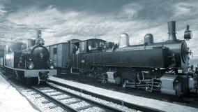 De Treinen van de stoom Royalty-vrije Stock Afbeeldingen