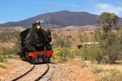 De treinlocomotief van de stoom   Royalty-vrije Stock Foto