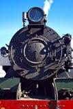 De treinlocomotief van de stoom   Stock Foto's