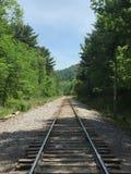 De treinsporen van het duivelsmeer Royalty-vrije Stock Afbeelding