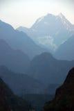 De Trekking van Himalayagebergte Nepal Royalty-vrije Stock Afbeeldingen