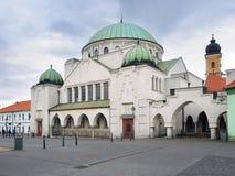 De Trencin-Synagoge, Trencin-stad, Slowakije Royalty-vrije Stock Foto's
