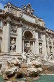 De Trevi Фонтан в Риме Стоковое Изображение