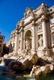 De Trevi Fontein, Rome, Italië. Royalty-vrije Stock Foto's