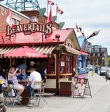 De Tribune van Beavertails in Ottawa, Ontario, Canada stock afbeelding