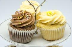 De tribune van Cupcake Royalty-vrije Stock Afbeeldingen