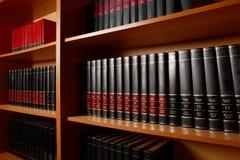 De tribune van de bibliotheek royalty-vrije stock afbeelding