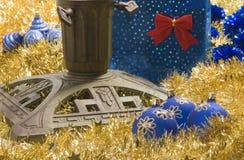 De tribune van de kerstboom Royalty-vrije Stock Fotografie