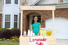 De Tribune van de limonade Stock Afbeeldingen