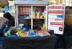 De tribune van de tabak in Bamako royalty-vrije stock foto's