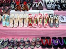 De tribune van pantoffels stock fotografie