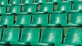 de tribunes van het voetbalstadion Stock Foto