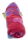 De trillende Handdoek van het Strand stock fotografie