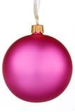 De trillende roze Snuisterij van Kerstmis Stock Foto's