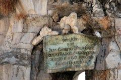 De triomf van San Rafaël (Poortbrug in Córdoba) Royalty-vrije Stock Fotografie