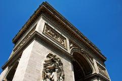 De Triomphe łuk Zdjęcia Stock