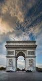 De Triomphe łuk Obrazy Royalty Free