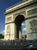 De Triomphe łuk Zdjęcia Royalty Free