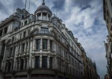 De Trocaderobouw in Londen, Engeland Stock Foto's