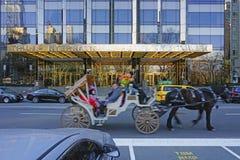 De Troeftoren op het Central Parkwesten in de Stad van New York Stock Afbeeldingen