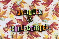 De troep van antiquiteiten collectibles schatten royalty-vrije stock foto