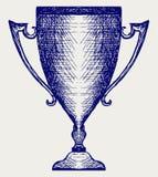 De trofeeën van de toekenning Royalty-vrije Stock Foto's