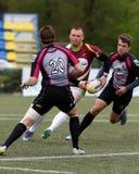 De Trofee van de de Clubkampioen ` s van rugbyeuropa Sevens in St. Petersburg, Rusland Royalty-vrije Stock Afbeeldingen
