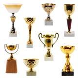 De Trofee van de inzameling Stock Foto