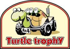 De trofee van de schildpad stock illustratie