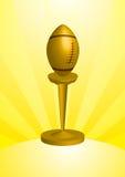 De Trofee van de voetbal Royalty-vrije Stock Afbeeldingen