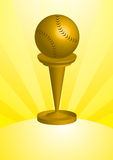 De Trofee van het honkbal Stock Foto