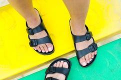 De trois pieds Images libres de droits