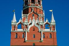 De Troitskaya da torre a torre da trindade literalmente fotos de stock royalty free