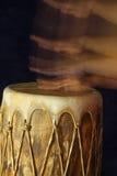 De trommel sloeg royalty-vrije stock afbeeldingen
