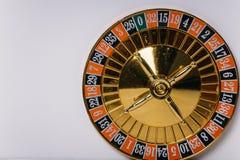 De trommel van roulette casino dat ons leven-spel stock foto's
